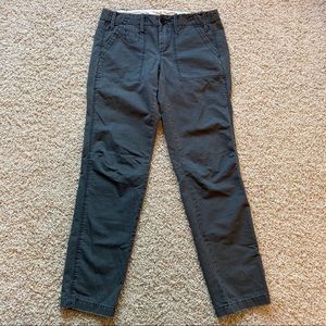 Anthropologie Paperboy Cropped Chinos Pants 0